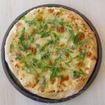 Pizza classique mais gourmande aux 4 fromages.