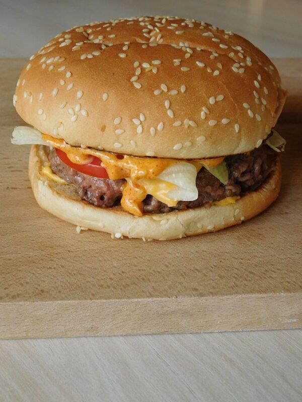Burger façon Big Tasty comme chez Mc Donald's