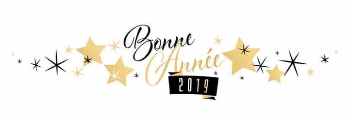 Bonne Année, Happy New Year 2019.