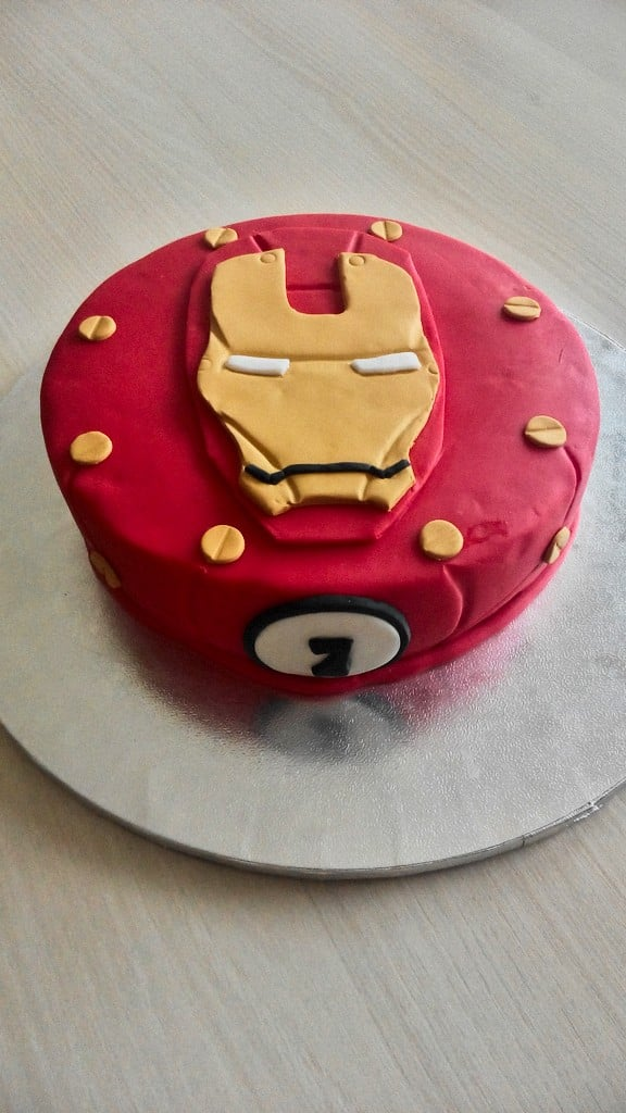 Cake Design Ironman