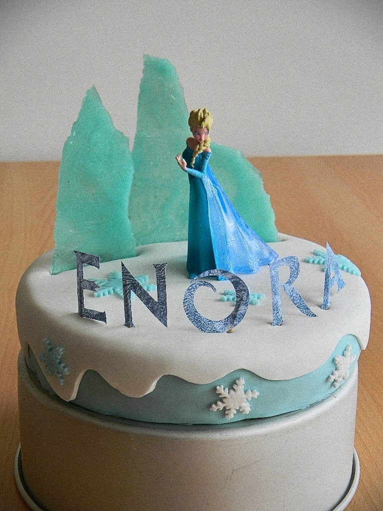 Cake Design La Reine Des Neiges