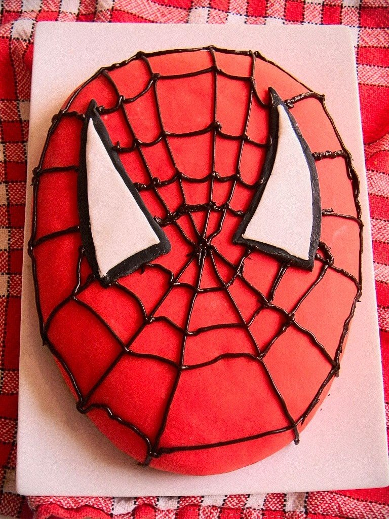 Cake Design Spiderman