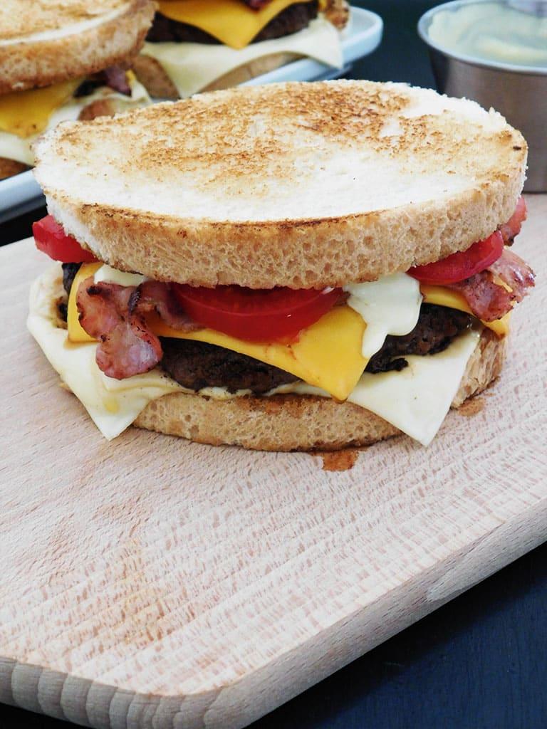 Burger façon Quick N' Toast